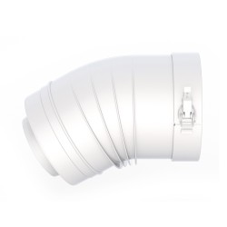 ELBOW 30° 100/150 WHITE