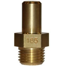 INJECTEUR PRINCIPAL GAZ NATURELLE: 185 × 22