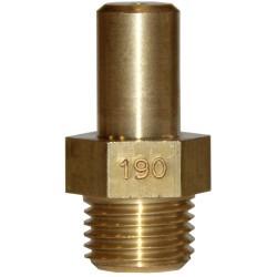 INJECTEUR PRINCIPAL GAZ NATURELLE: 190 x 22