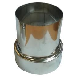 AFVOERMOF INOX DIAM 107,5