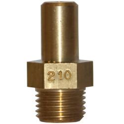 HOOFDINSPUITER AARDGAS: 210 × 22