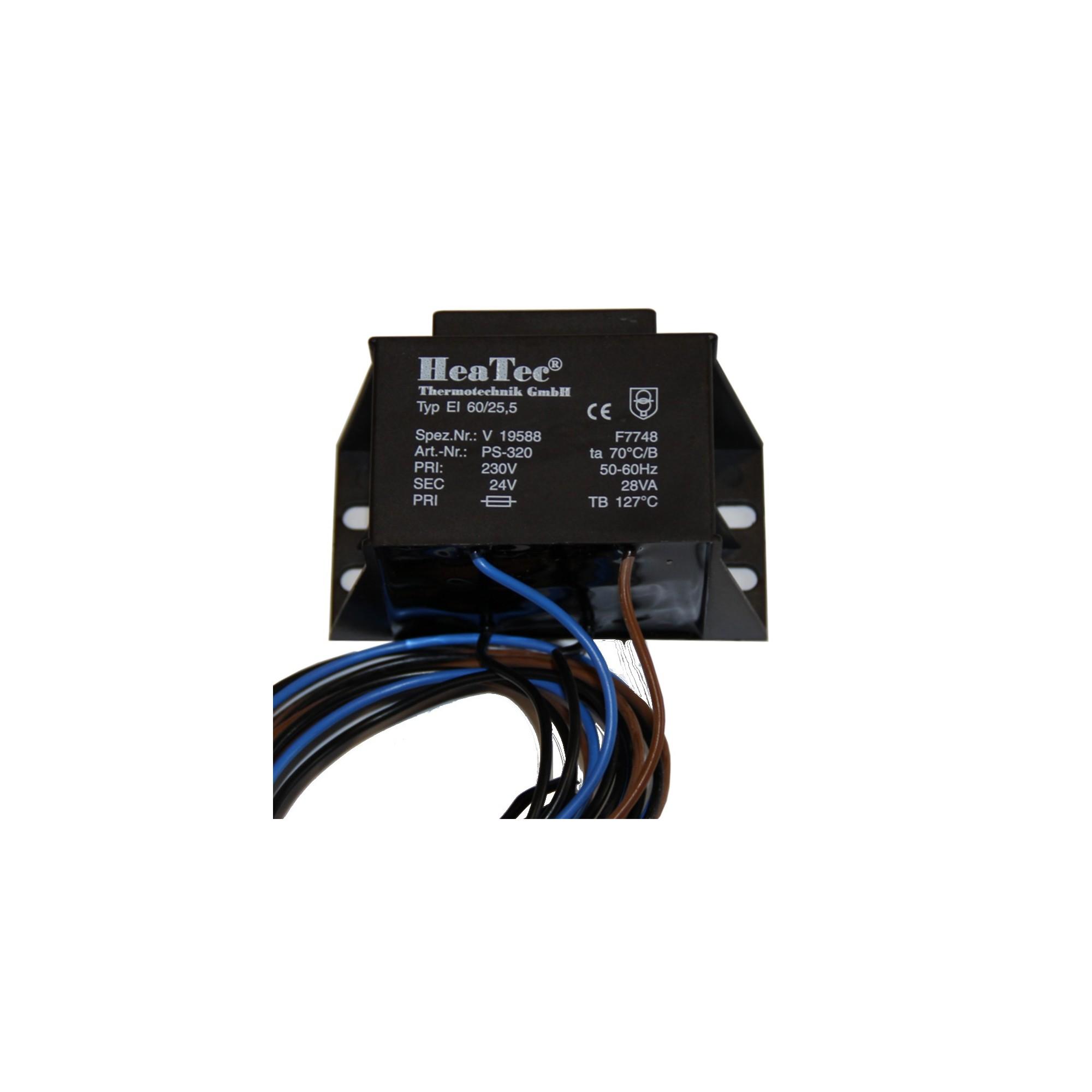 TRANSFORMATOR 230V/24V - 50 HZ