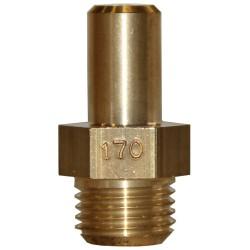 INJECTEUR PRINCIPAL GAZ NATURELLE: 170 x 22