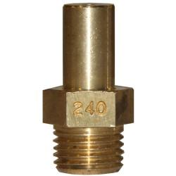 INJECTEUR PRINCIPAL GAZ NATURELLE: 240 × 22