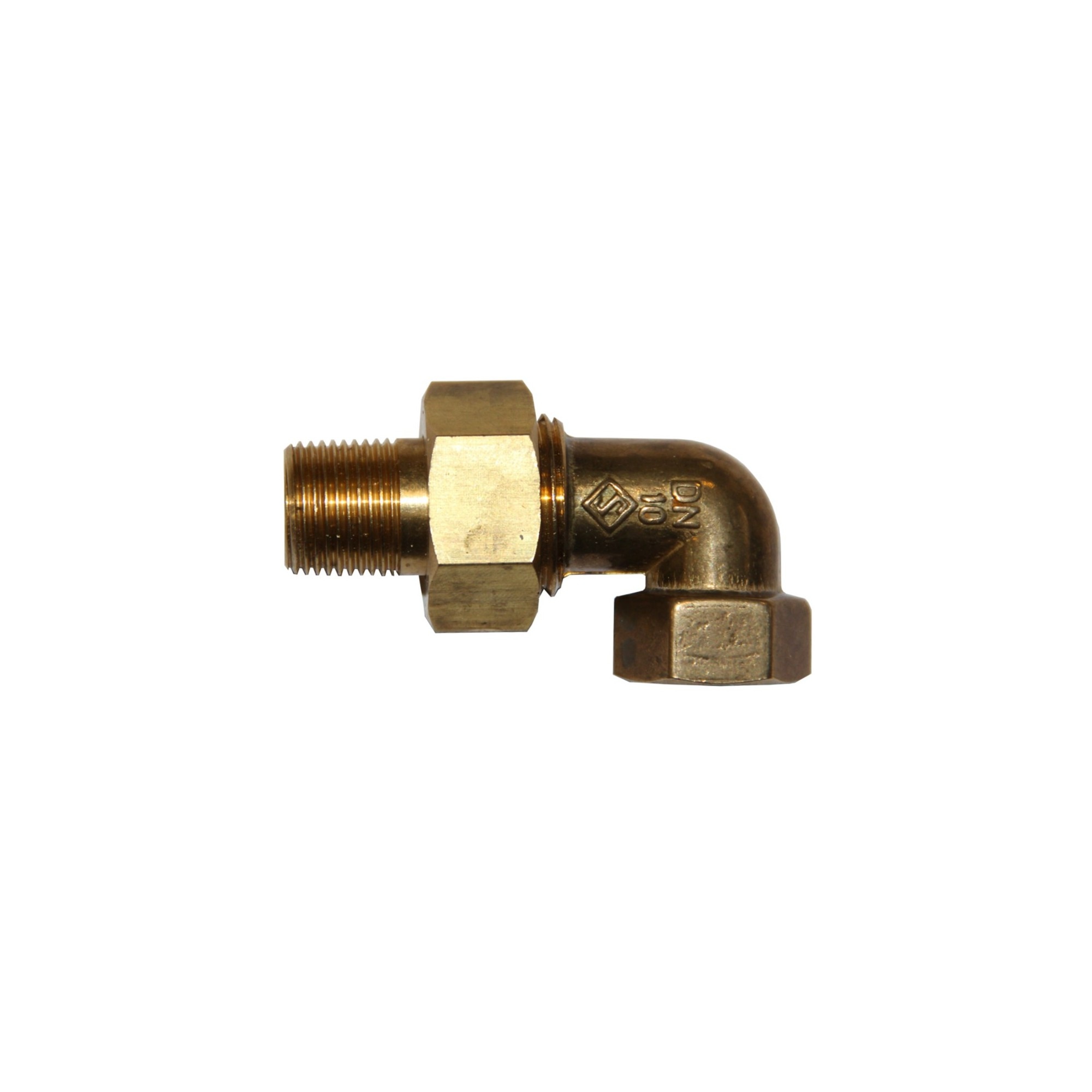 3-PIECE COUPLER 90° COPPER