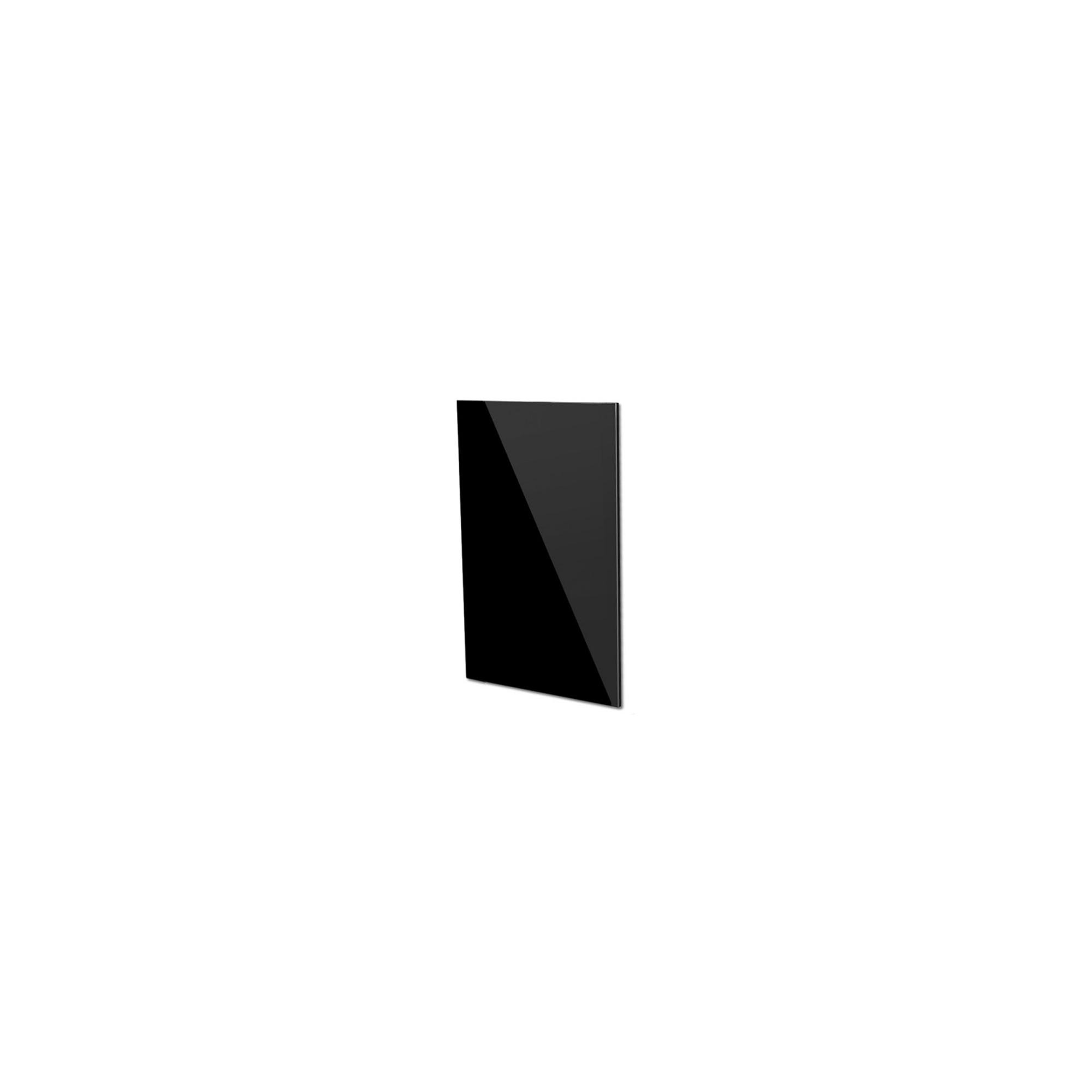 ACHTERWAND ZWART GLAS KT85MD (217X480 MM)